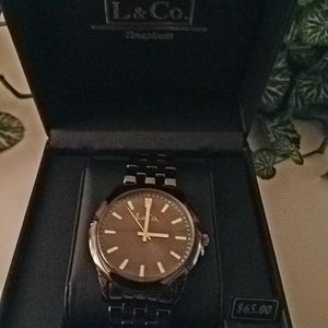 🔥SALE MEN'S L & Co Timepieces Watch